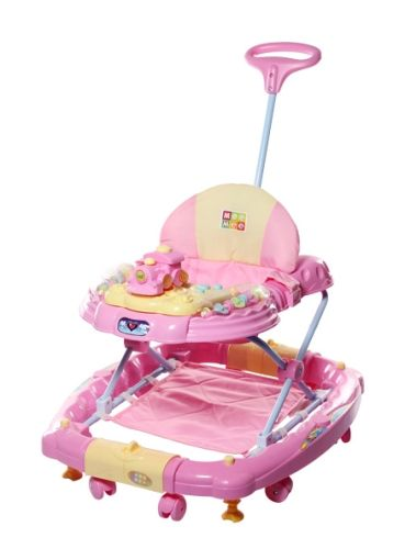 Mee Mee Joyful Train Engine Walker cum Rocker - Pink