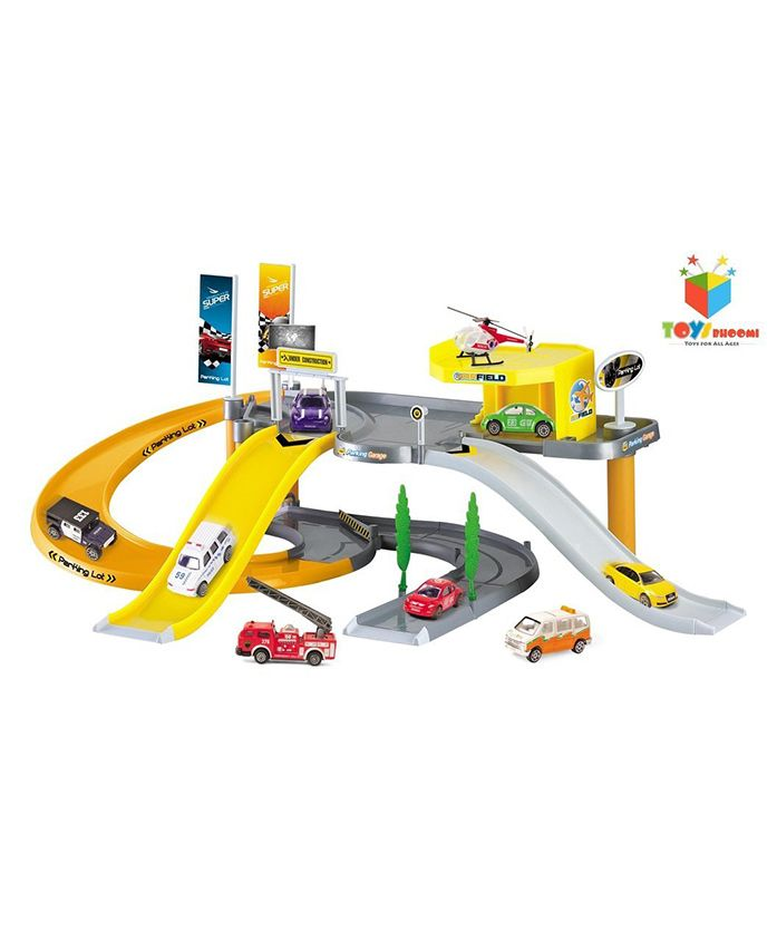 Toys Bhoomi City Parking Lot Play Set - Multicolour