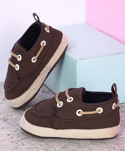 Kidlingss Lace Up Booties - Brown