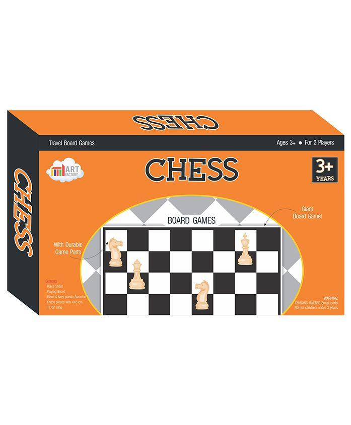 Art Factory Chess - Black & White