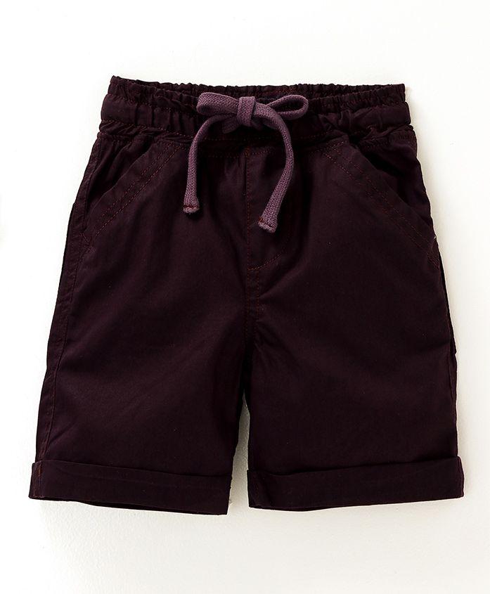 Kiddopanti Casual Shorts - Dark Brown