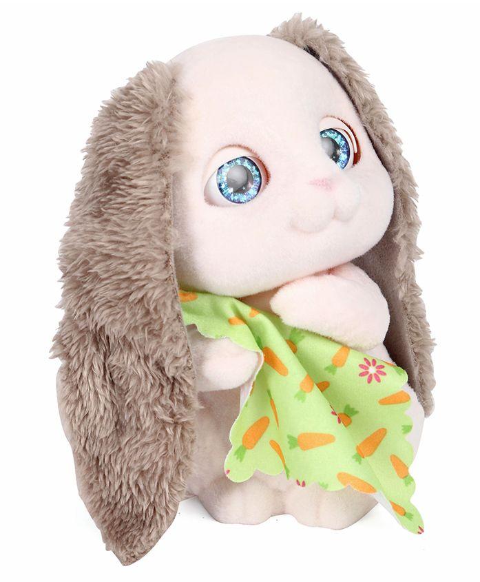 Hasbro Furreal Fuzz So Shy Bunny Beige - Height 16 cm