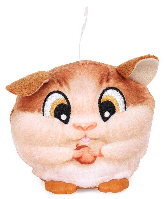 Hasbro FurReal Cuties Hamster Face Battery Operated Soft Toy - Brown