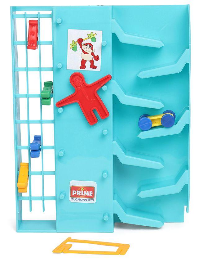 Prime 3 in 1 Tumbling Monkey Game - Sea Blue
