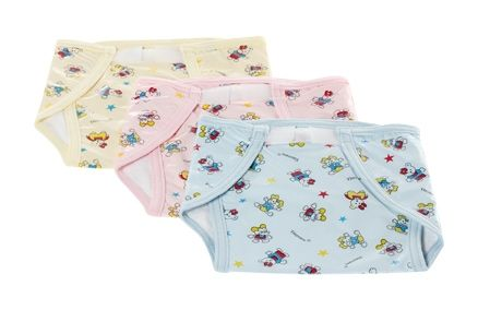 Tinycare Waterproof  Nappy - Set Of 3