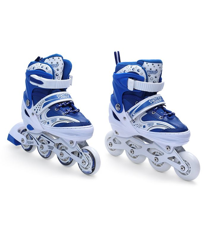 Dr. Toy Inline Skate Shoes - Blue White