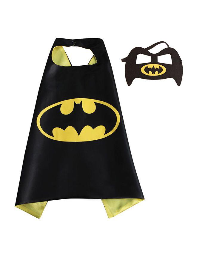 Party Anthem Batman Cape And Mask - Black