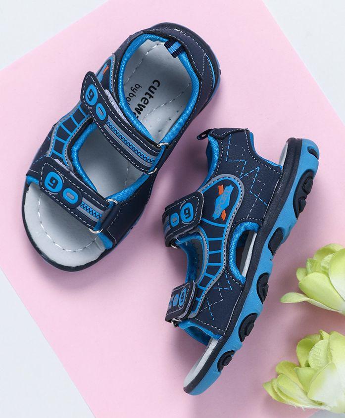 Cute Walk by Babyhug Floaters Sport Patch - Blue