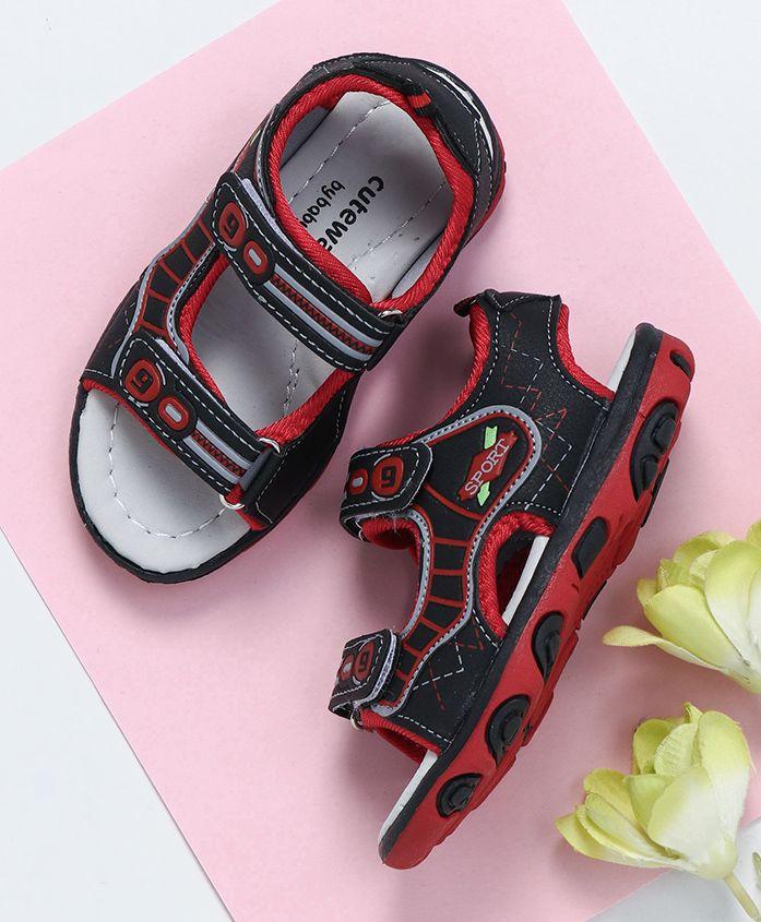 Cute Walk by Babyhug Floaters Sport Patch - Black