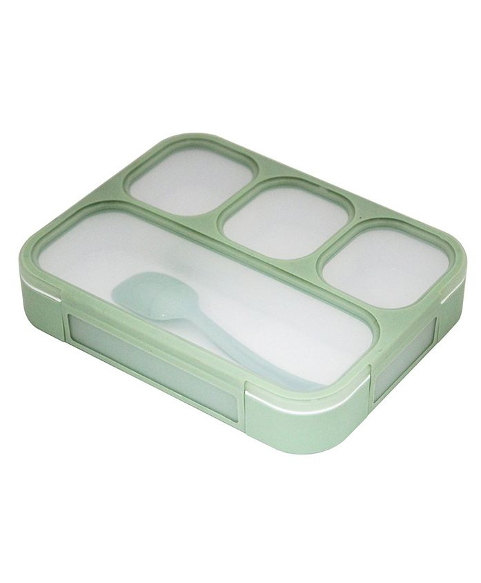 Kidofash Lunchbox With Spoon - Green