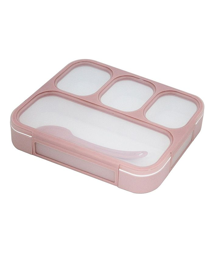Kidofash Lunchbox With Spoon - Pink