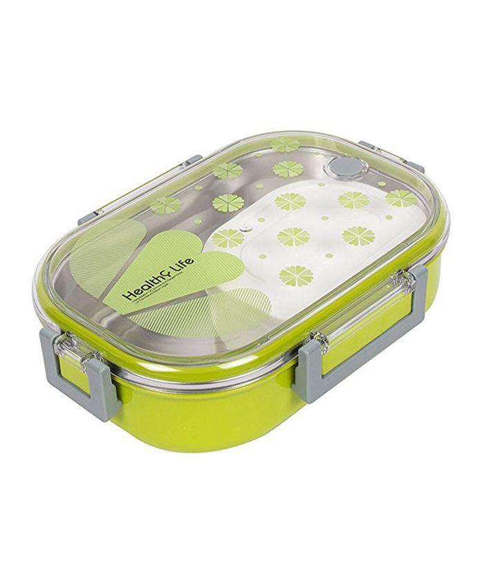 Kidofash Rectangle Shape Lunchbox - Green