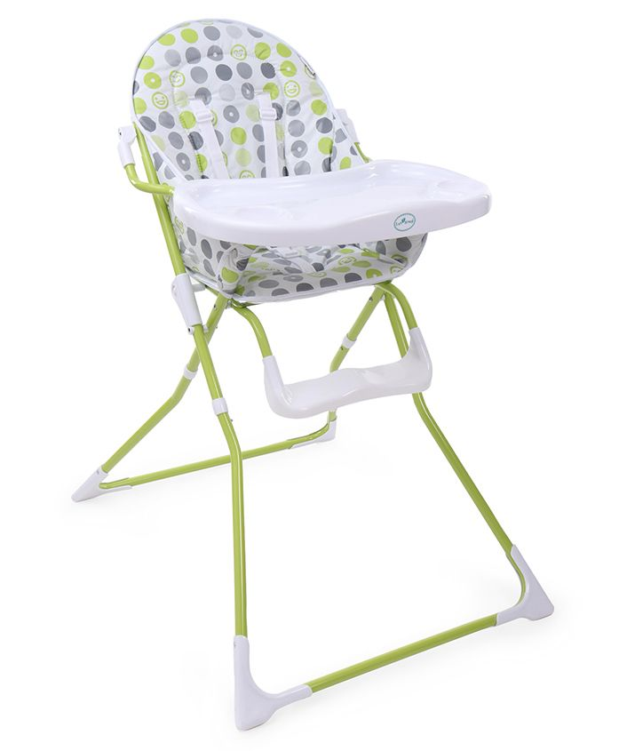 1st Step Baby High Chair - Green