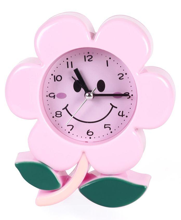 Flower Shaped Clock - Pink