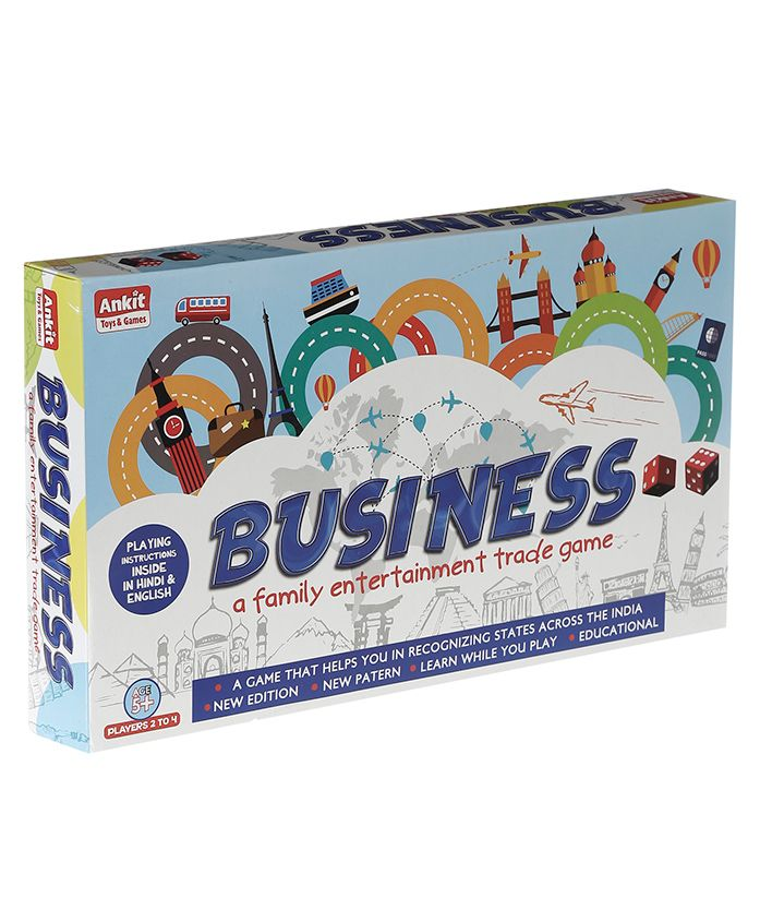 Ankits Classic Business Board Game with Plastic Money