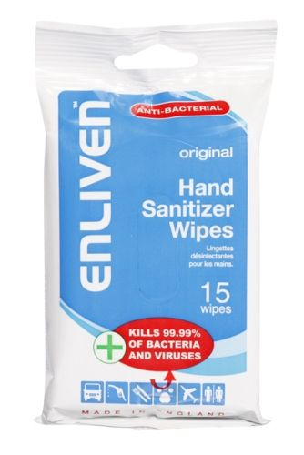 Enliven - Anti Bacterial Wet Wipes