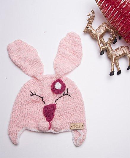 The Original Knit Woolen Cap - Baby Pink