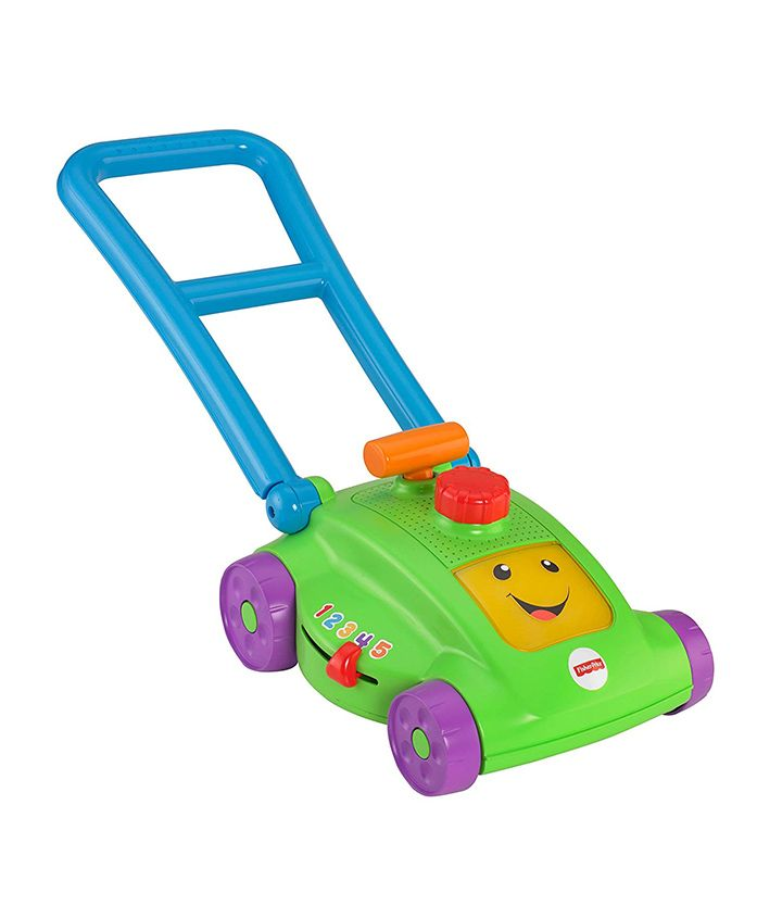 Fisher Price Space Saver Mower - Multi Color