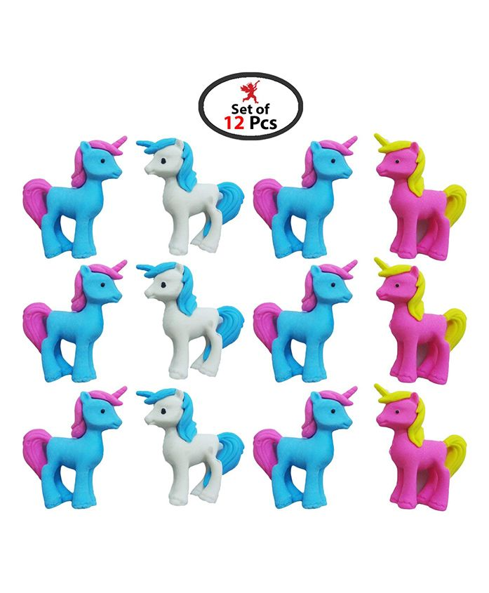 Party Propz My Little Pony 3D Erasers For Kids For Little Pony Return Gifts (Set Of 12) For Return Gifts For Kids Birthday Party