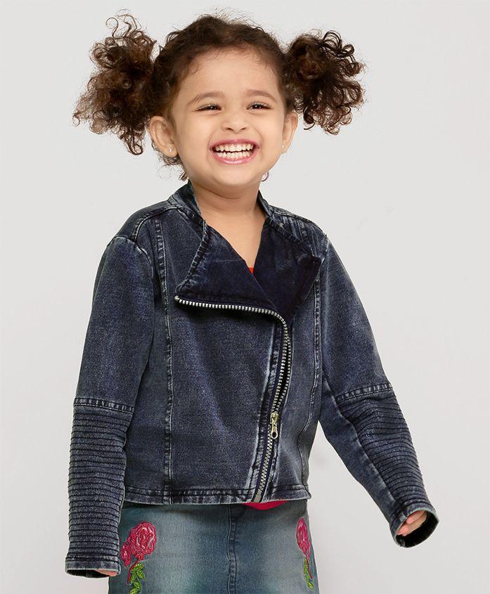 Fox Baby Winter Wear Jacket - Blue