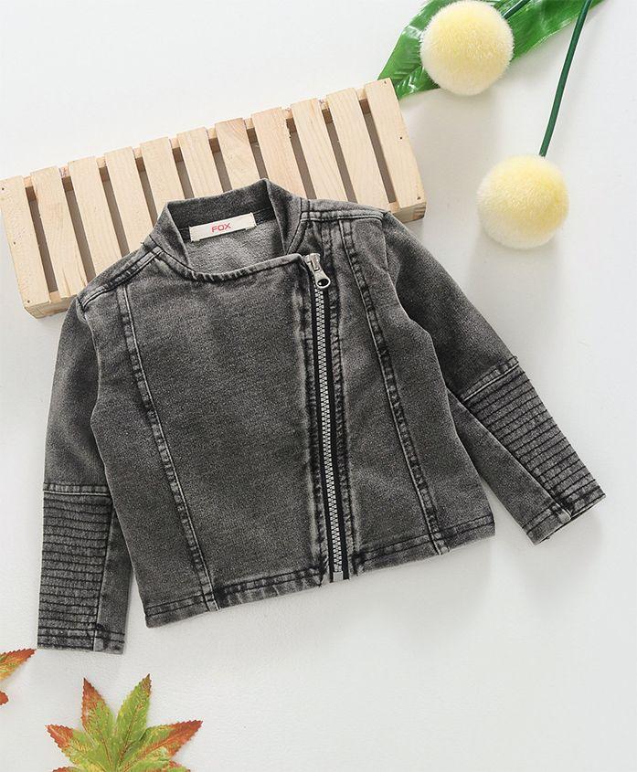 Fox Baby Winter Wear Jacket - Grey