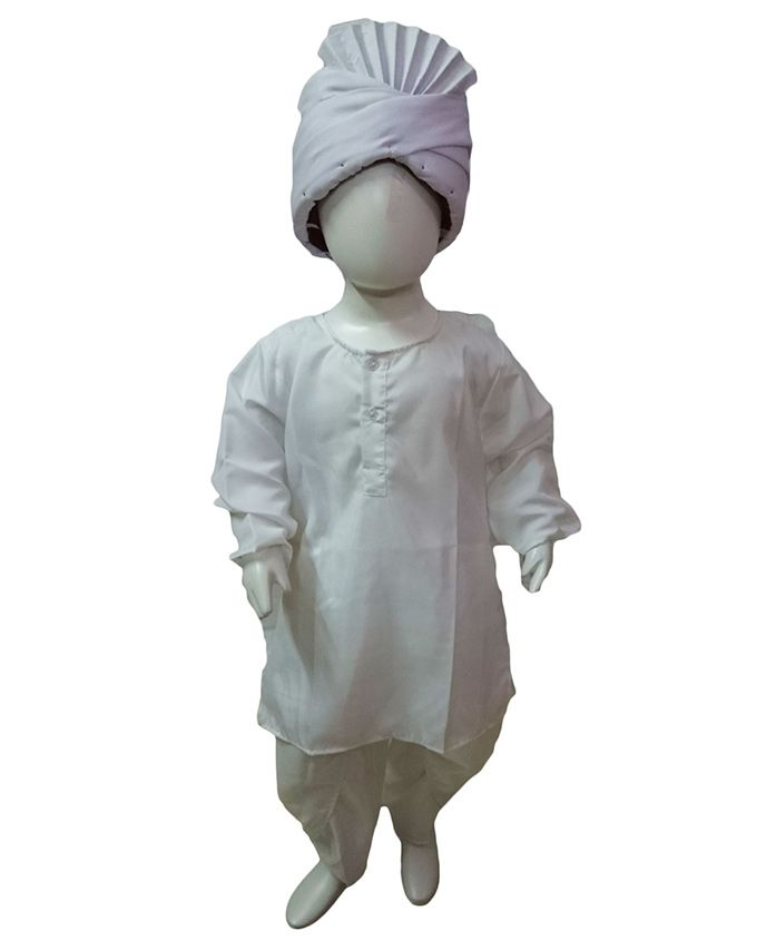 BookMyCostume Lala Lajpat Rai Freedom Fighter Fancy Dress Costume - White