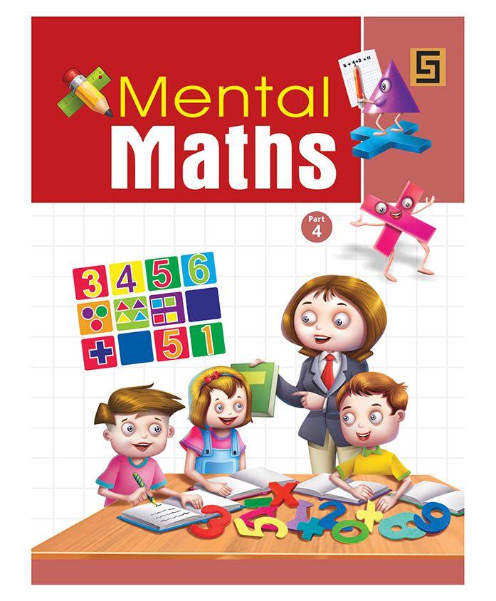 Mental Maths 4 Book - English