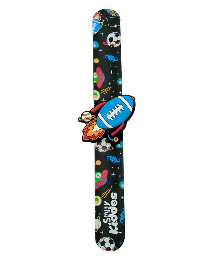 Smilykiddos Fantasy Scented Slap Band - Black