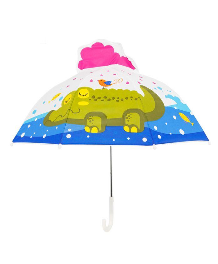 Little Maira Frog Design Umbrella - Multicolor
