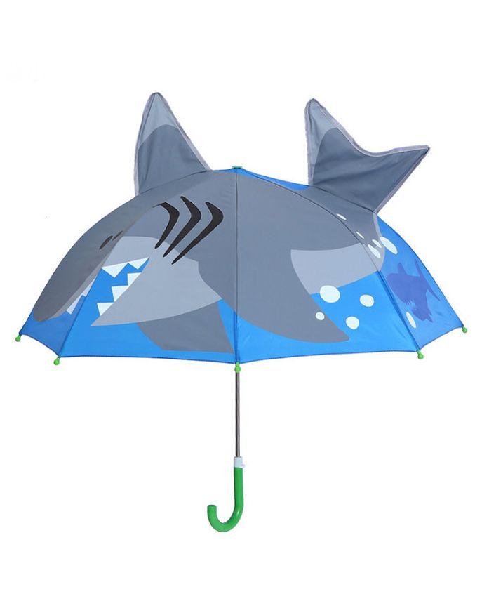 Little Maira Shark Theme Umbrella - Blue