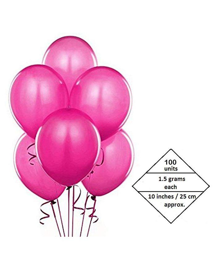 AMFIN Balloons Dark Pink - 100 Pieces