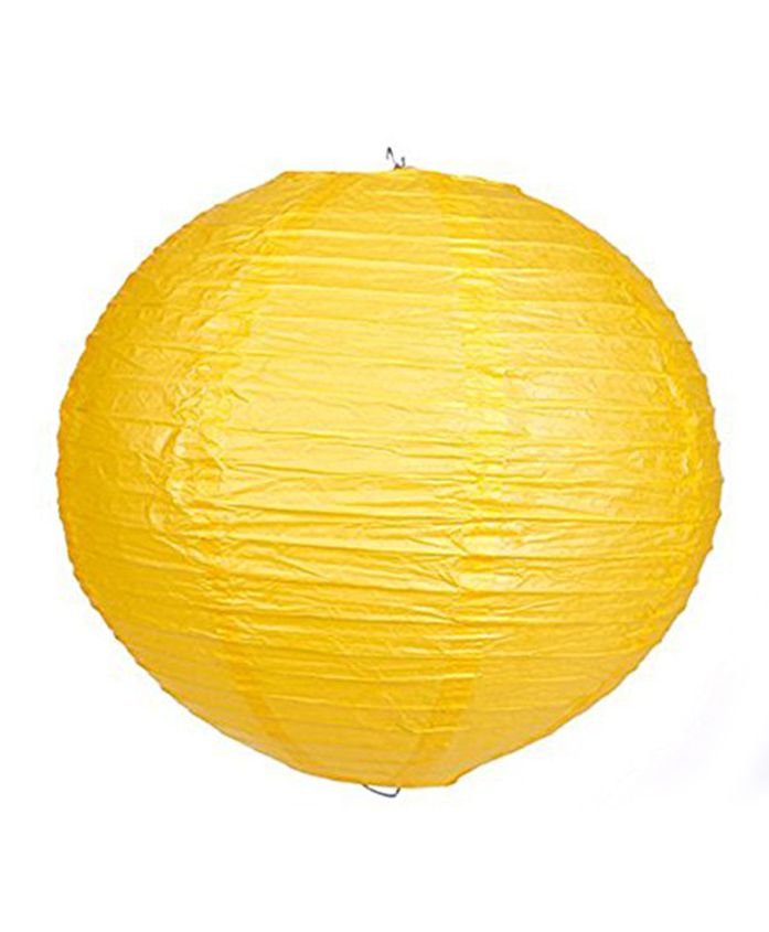 Amfin Large Paper Lantern - Yellow