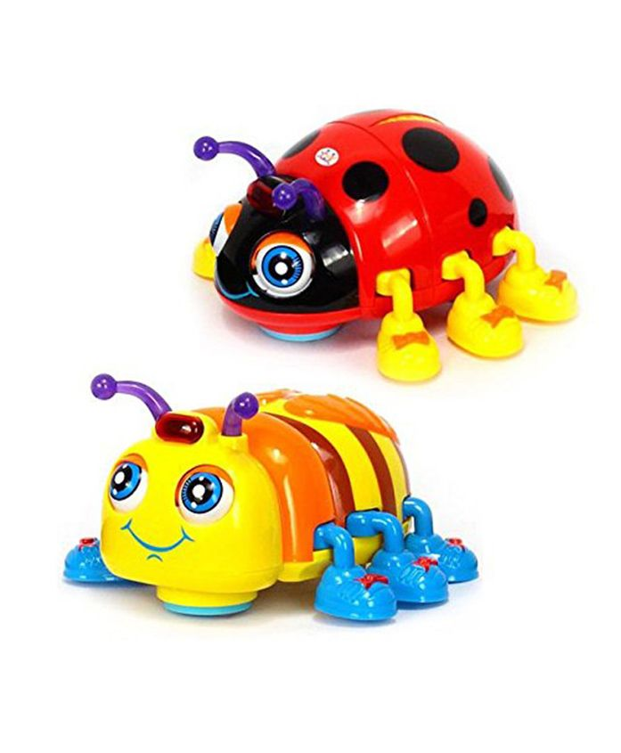 Toyshine Musical Beetle Toy (Colour May Vary)
