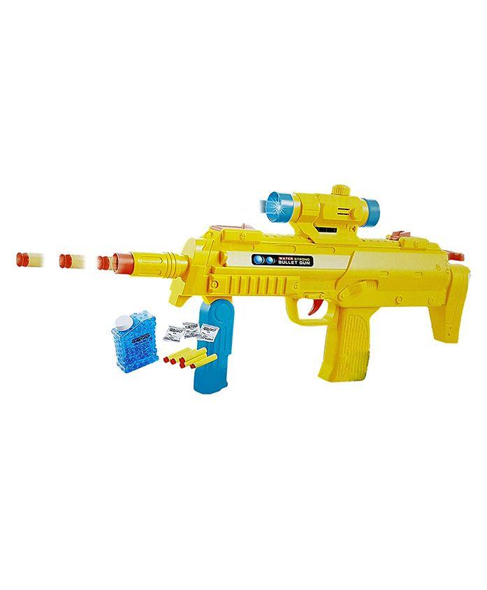 Toyshine Gun Toy With Foam Darts & Jelly Shots - Yellow