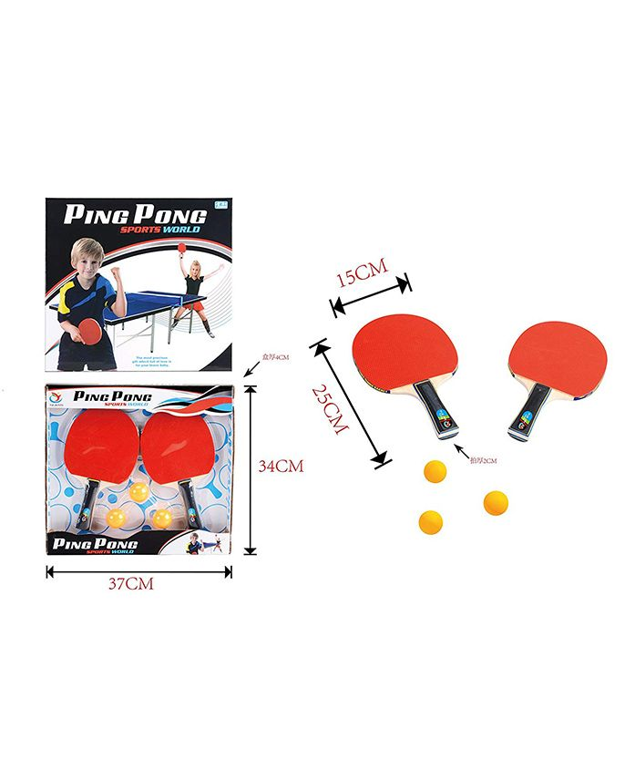 Curtis Toys Table Tennis Set - Multicolour