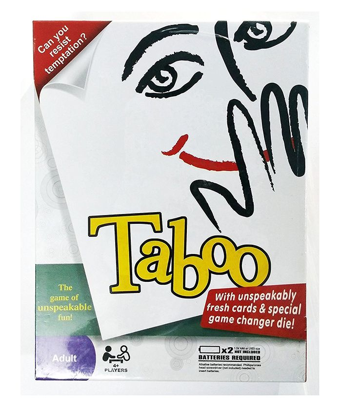 Curtis Toys Taboo Card Game - Multicolour