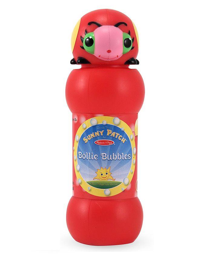 Melissa & Doug Bollie Bubble Solution - Red