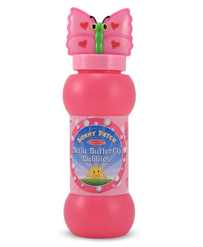 Melissa & Doug Bella Butterfly Bubble Solution - Pink