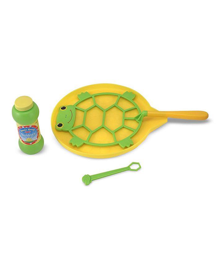 Melissa & Doug Tootle Turtle Bubble Set - Green