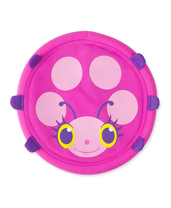 Melissa & Doug Trixie Flying Disc - Pink