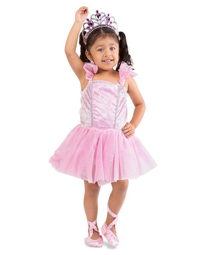 Melissa & Doug Ballerina Role Play Set - Pink