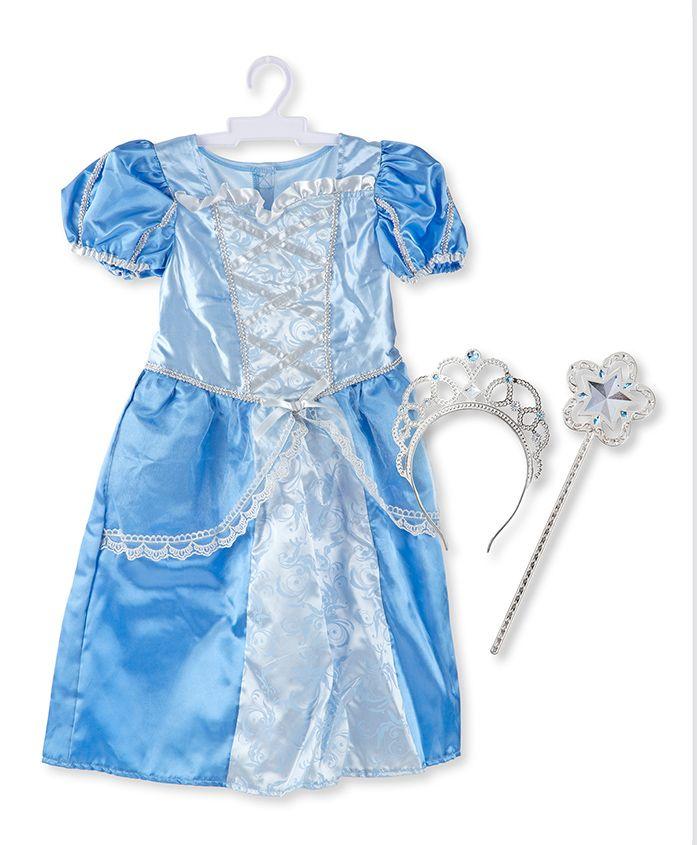 Melissa & Doug Royal Princess Role Play - Blue
