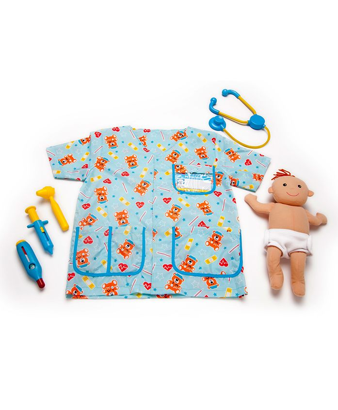 Melissa & Doug Pediatric Nurse - Blue