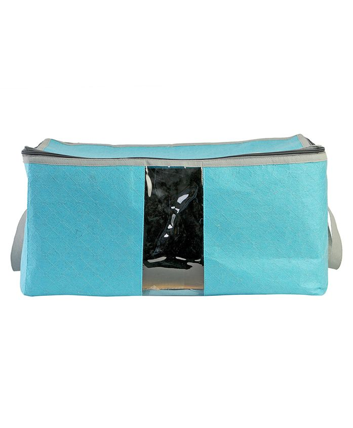 My Gift Booth Quilted Cloth Organizer - Sky Blue