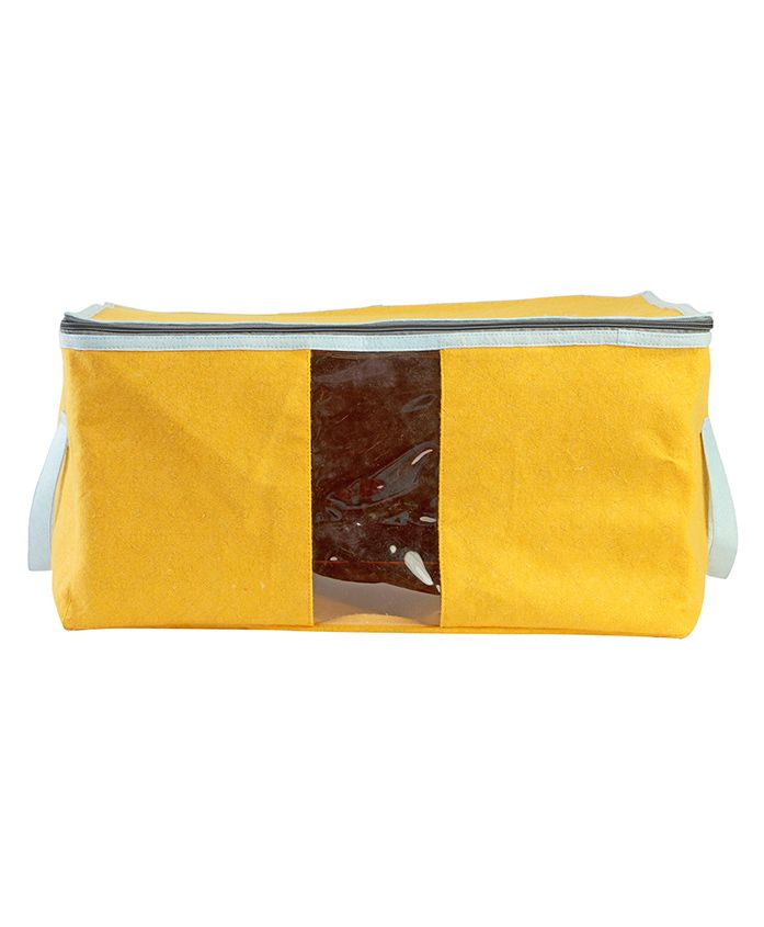 My Gift Booth Quilted Cloth Organizer - Yellow