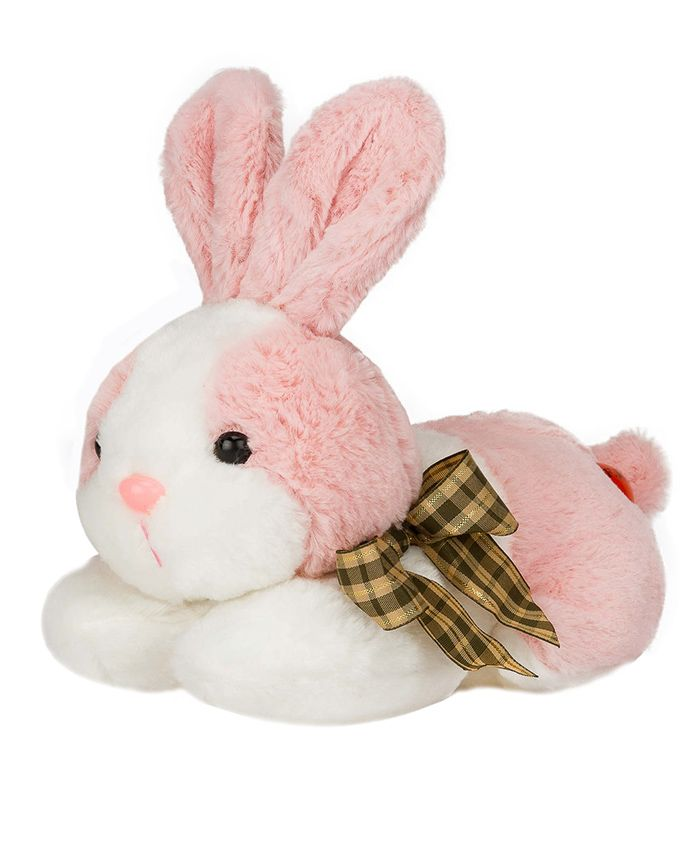 Dhoom Soft Toys Bunny Light Pink - Length 20 cm