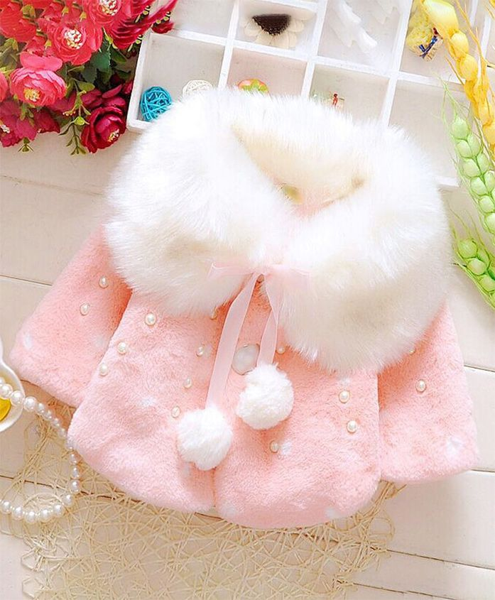 Pre Order - Awabox All Over Fur Coat - Pink