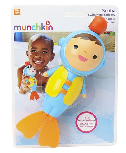 Munchkin Splash N Swim Scuba Swimming Bath Toy - Blue