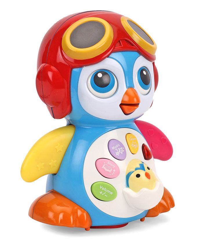Smart Swing Penguin Musical Toy - Multi Colour