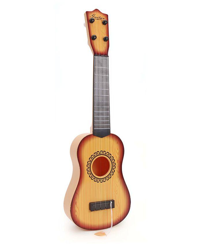 Musical Acoustic Guitar - Yellow
